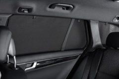 Zwarte Set Car Shades Mitsubishi Lancer Sportback 5 deurs 2009