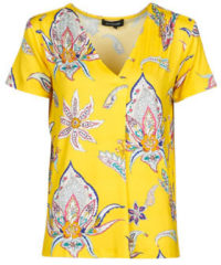 Gele T-shirt Korte Mouw Desigual LEMARK