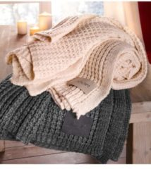 Plaid 'Knit' JOOP! Beige