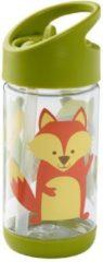 Groene Drinkfles Flip & Sip What Did The Fox Eat | SugarBooger