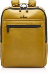Castelijn & Beerens Nappa X Victor Rugzak 15,6'' + Tablet geel backpack