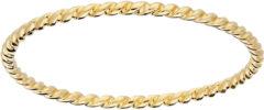 Goudkleurige Glow 214.2051.50 Ring geelgoud Koord Maat 50