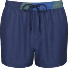 Blauwe Sloggi Men Shore Chukk Boxer midleg 10207631/6722-M