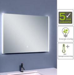 Boss & Wessing BWS Anubis Duo Condensvrije LED Spiegel 80x60 cm Aluminium