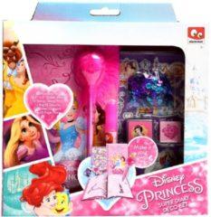 Roze Disney Princess maak je eigen dagboek set voor meisjes
