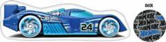 Hot Wheels figuurkussen jongens 40 cm polyester blauw