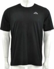 Zwarte Kappa Logo Cafers Heren T-shirt Maat L