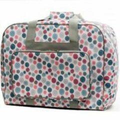 Sewing Naaimachine tas. Vouwtas voor naaimachines knoopdessin