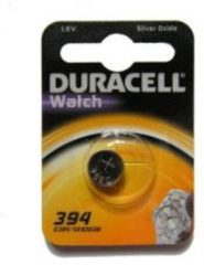 Zilveren Duracell 394
