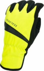 Sealskinz Waterproof All Weather Cycle Glove Fietshandschoenen - Maat XL - Neon geel/Zwart