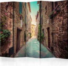 Beige Kamerscherm - Scheidingswand - Vouwscherm - Magic Tuscany II [Room Dividers] 225x172 - Artgeist Vouwscherm
