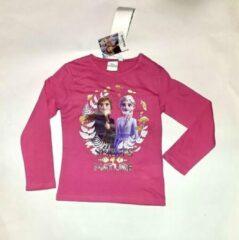Fuchsia Disney Frozen Disney Frozen Meisjes T-shirt Maat 110