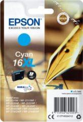 Blauwe Epson Singlepack Cyan 16XL DURABrite Ultra Ink 6.5ml Cyaan 450pagina's inktcartridge