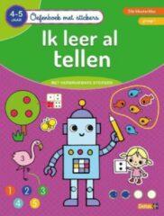 Deltas Oefenboek Met Stickers Ik Leer Al Tellen (4-5 Jaar)
