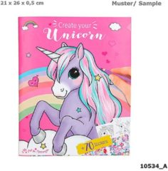 Ylvi & The Minimoomis Kleur- En Stickerboek Unicorn 26 Cm Papier