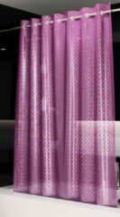 Paarse Roomture - douchegordijn - Disco - 120 x 200