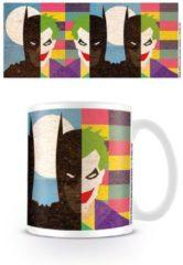 Witte DC Comics Batman - Face half half Mug