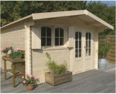Solid tuinhuis 'Rignitz' hout 14,25 m²