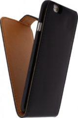 Zwarte Xccess Leather Flip Case Apple iPhone 6 Black