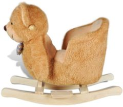 Bruine VidaXL Schommelpaard (teddybeer variant)