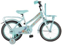 Volare 16 ZOLL TATTOO GIRLS Junior Bike Kinder blau