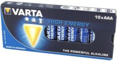 Varta High Energy 04903 - Batterie AAA / LR03 Alkalisch 04903 121 111