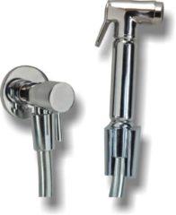 Praya Hydro Complete set knijp handdouche met slang en hoekstopkraan 1 29.4301