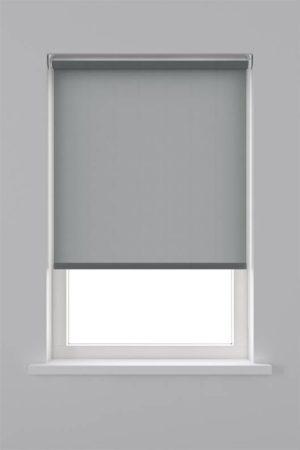 Afbeelding van Antraciet-grijze Decosol rolgordijn lichtdoorlatend - 90x190 cm - antraciet