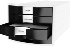 Witte HAN IMPULS 2.0 1012-32 Desk drawer box White A4, C4 No. of drawers: 4