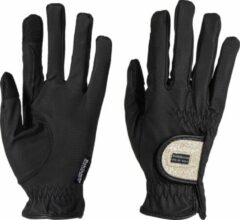 Dokihorse Handschoenen Joy Zwart Goud Glitter (6.5)
