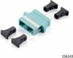 Equip SC Fiber Optic Coupler, OM3 Multi-mode Duplex (156143)