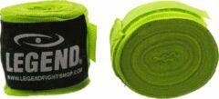 Legend Sports Legend Premium Bandages 4,5M speciale kleuren : Neon Geel