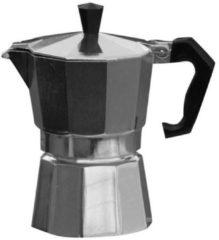 Basic Nature - Espresso Maker Bellanapoli maat 6 Tassen, grijs/zwart