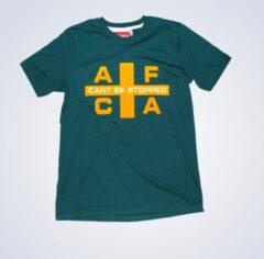 AFC Ajax T-shirt FLAG groen/geel