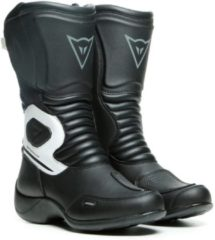 Zwarte Dainese Aurora Lady D-WP Black White Motorcycle Boots 36