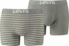 Grijze Boxers Levis LEVIS 200SF VINTAGE STRIPE 0312 BOXER BRIEF 2P