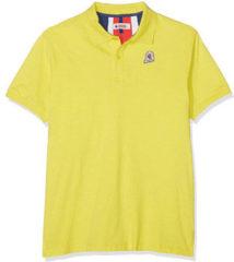 Gele Polo Shirt Korte Mouw Invicta 4452208/U