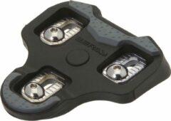 BRN Schoenplaatjes compatibel Look keo - 0° speling - Zwart - Grip