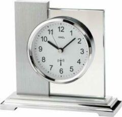 Zilveren AMST Tafelklok SILVER GHOST Modern Design