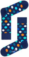 Happy Socks - Big Dot Sock - Multifunctionele sokken maat 41-46, blauw
