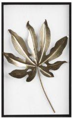 Bruine Beliani Wanddecoratie goud/zwart/wit CURIUM