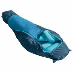 Vaude - Kid's Alpli Adjust 400 SYN - Kinderslaapzak maat 135-160 cm, blauw/turkoois