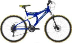 26 Zoll Cinzia Arrow Fully Mountainbike 21... blau