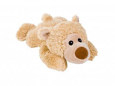 Afbeelding van Bruine Greenlife Value GmbH Warmies - Magnetron knuffel Beddy Bear de liggende, wakkere beer (William)