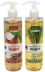 MINERAL Beauty System MBS Duschgel Duo Lemongrass & Coconut 2 x 300 ml