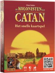 Rode 999 Games De Kolonisten van Catan het snelle kaartspel