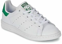 Groene Adidas Stan Smith Sneakers - Ftwr White/Ftwr White/Green - Maat 35.5