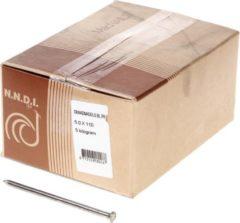 Klusgereedschapshop Draadnagel platkop blank 5.0 x 110mm 5kg
