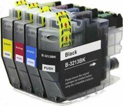 Cyane MediaHolland Huismerk LC3213 XL Set compatible inktpatronen 4 stuks
