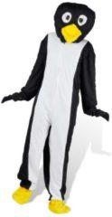 Zwarte VidaXL Carnavalspak pinguin M-L